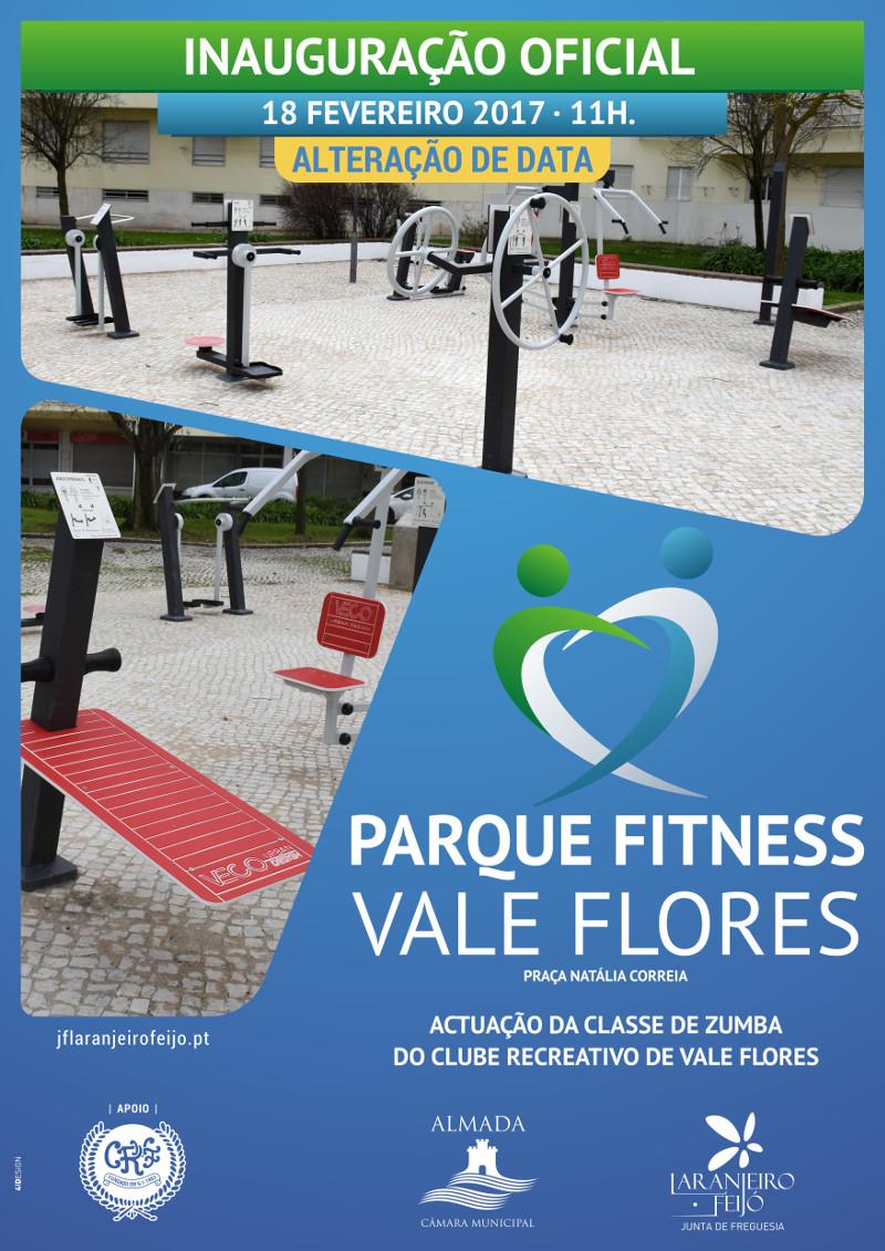 inauguração do Parque Fitness